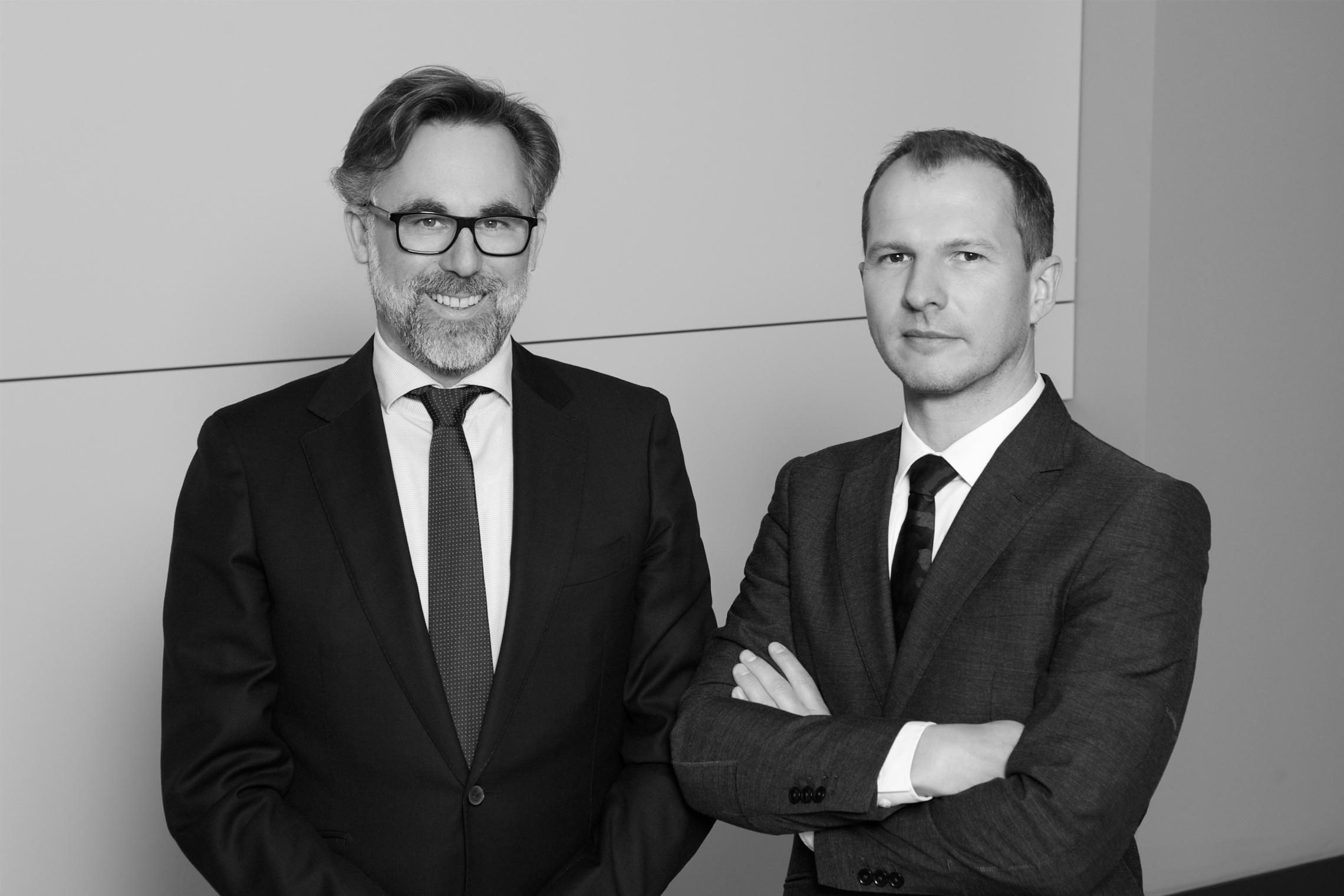 Businessfotografie Geschäftspartner s/w Caro Hoene Photography Berlin Kreuzberg