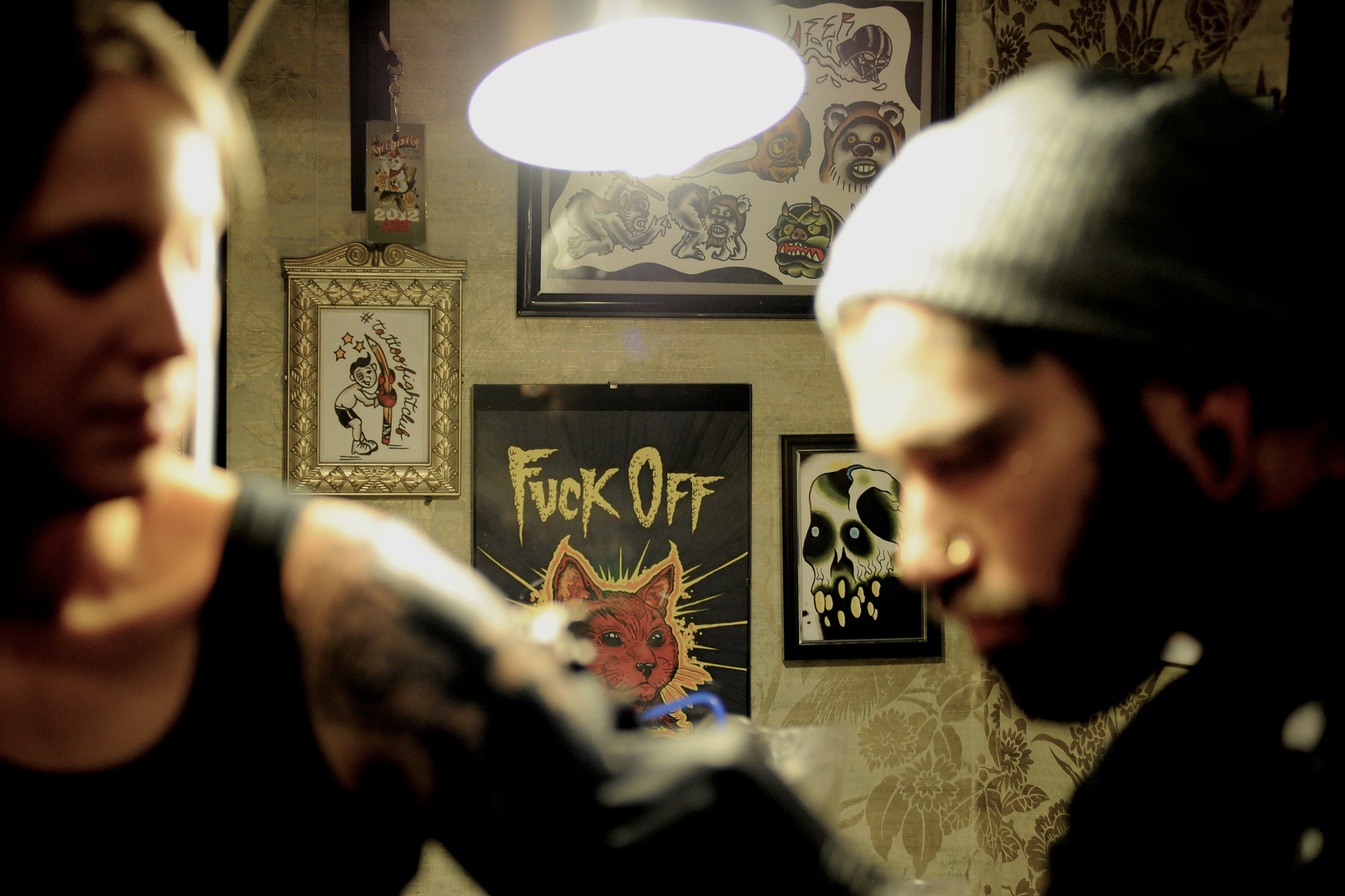 On location Photography Tattoostudio Caro Hoene Berlin Kreuzberg
