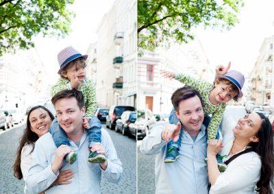 Familienfotos – Felicitas, Anton & Max