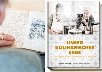 Buchprojekt – Unser kulinarisches Erbe